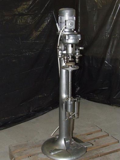 Używane Zamykarka 1-głowicowa półautomatyczna LANICO do puszek blaszanych