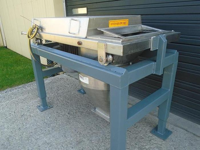 USED QUADRO COMIL, MODEL 198 S, STAINLESS STEEL, SANITARY