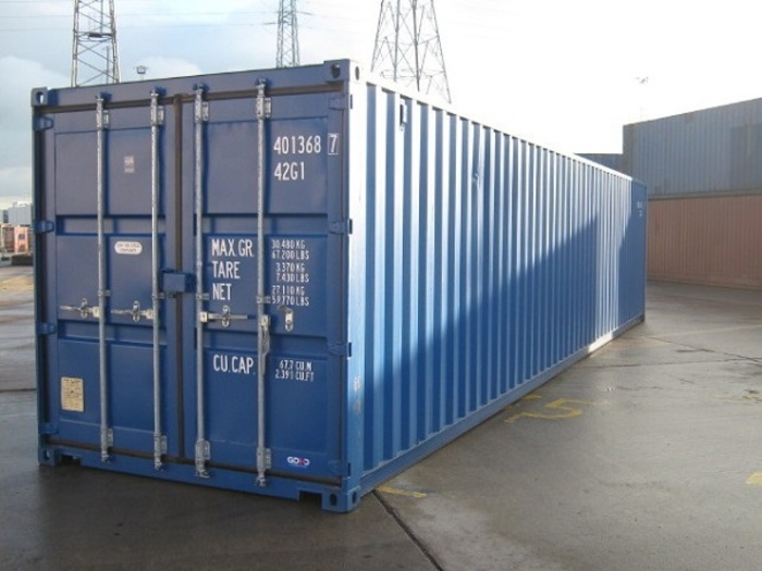 "40 'container 8'6 ""Steel Floor"