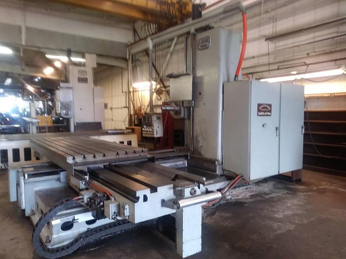 Used CNC Lucas Boring Mill  542B-120