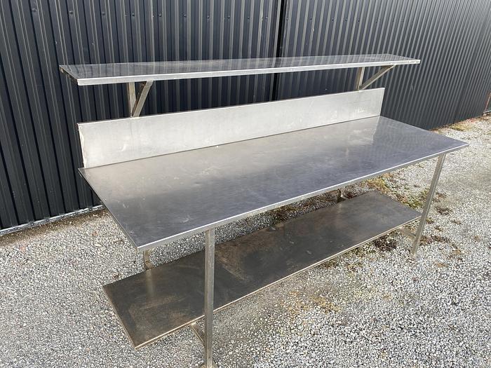 Other equipment Rostfritt bord 245x80cm