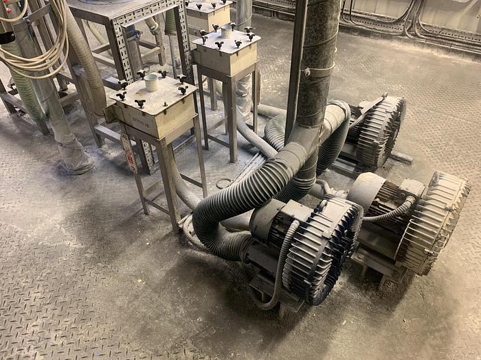 Used SIEMENS ELMO   Side Channel Vacuum Pump with HEPA filter
