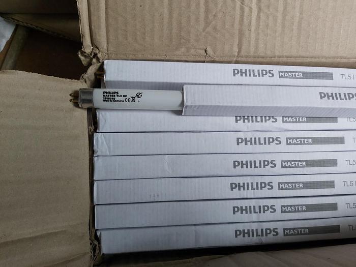 38 Stk. Leuchtstoffröhren Kaltweiss, Master TL5 HE, 28W/840, 115cm, Philips,  neu