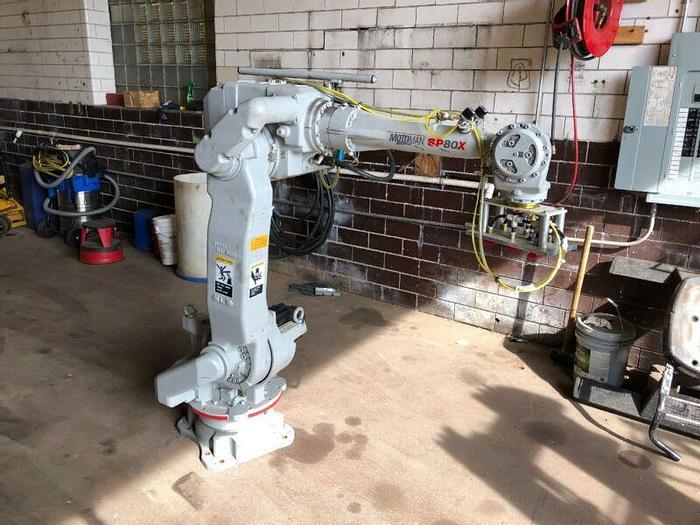 Used Yaskawa Motoman SP80X Robot YR-SP800-A02 Payload 80kg
