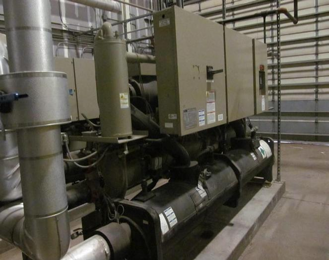 Used 90 TON TRANE INDOOR CHILLER – WATER COOLED (#9803)