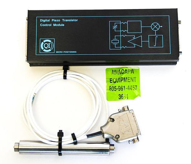 Used Queensgate QI DPT-C-L Digital Piezo Translator & Control Module CM-LN-LD  (3681)