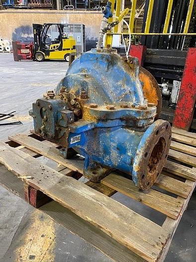 Used GOULDS MDL. 3405 M  HORIZONTAL SPLIT CASE PUMP
