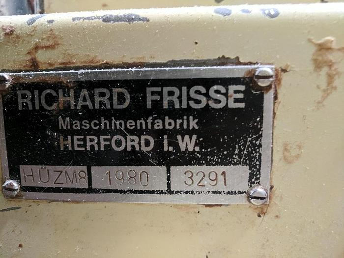 1980 Richard Frisse Enrober and Cooling Tunnel