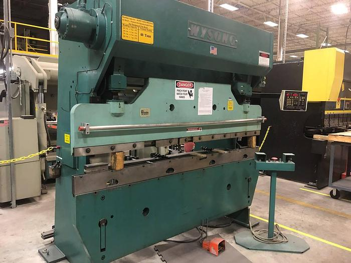 Used WYSONG PRESS BRAKE H6096