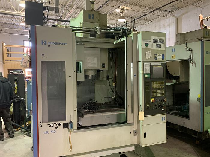 "HARDINGE BRIDGEPORT XR760 VMC PRODUCTION CENTER 30""X24""X24"""