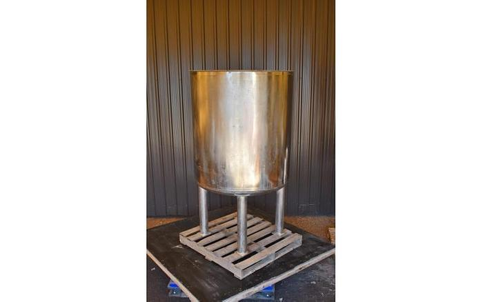 USED 275 GALLON TANK, STAINLESS STEEL