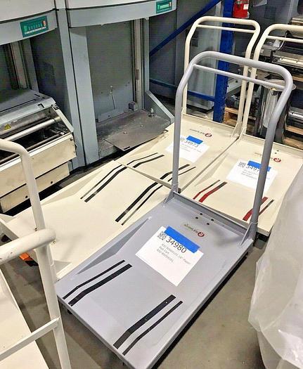 "Tecnau / Lasermax, 18"" Paper Roll Cart  (Slightly Used / Great Shape)"