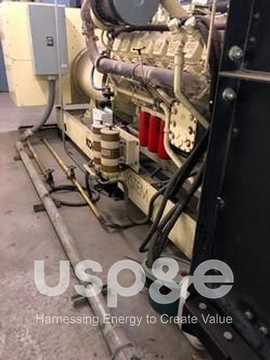 Used 1999 Cummins 1020 Kohler/ DDC MTU Diesel Generator 1000ROZD4