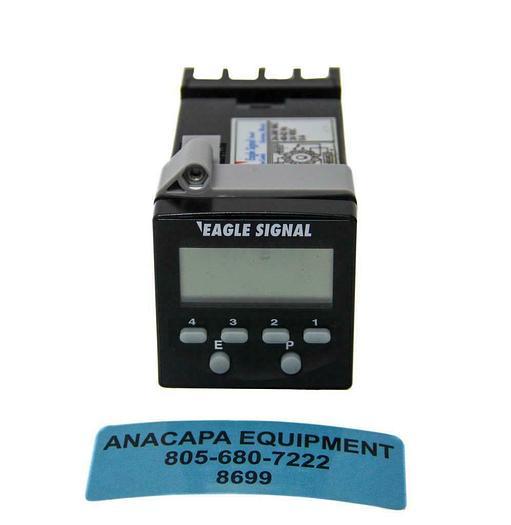 Used Danaher Controls Eagle Signal B856-500 LCD Timer, Omron P3GA-11 Relay (8699)W
