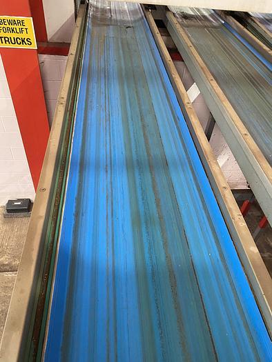 Used Steel Conveyor belt 9m L 0.7m W