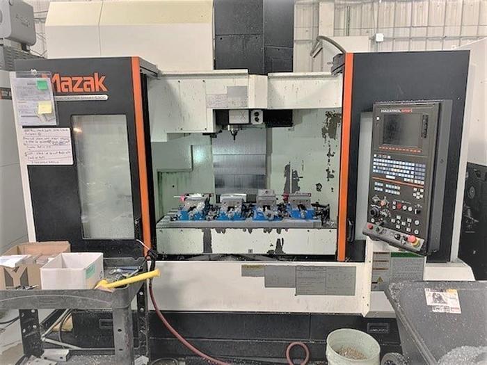 Used 2012 Mazak Vertical Center Smart 530C