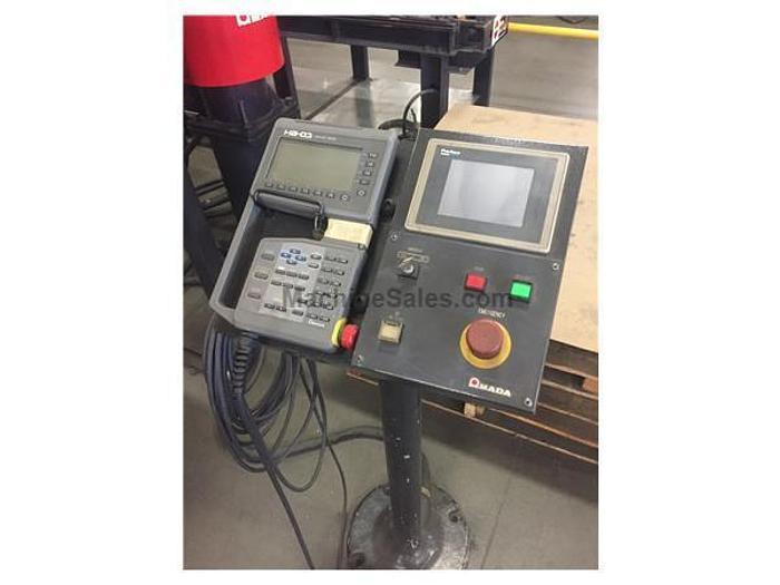2001 138 Ton Amada Astro-100 FBD-III-1253 CNC Robotic Press Brake