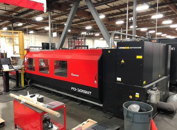 2008 4000 Watt Amada FO-3015NT CNC Laser