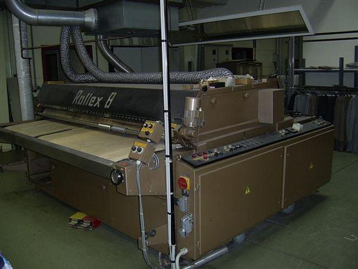 Gebraucht Dämpf- und Fixieranlage EHEMANN  ROLLEX  240 cm
