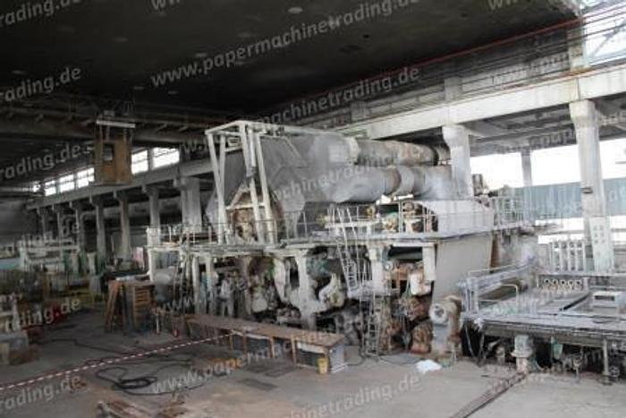 Used (PMT-50) - Tissue Paper Machine - VOITH - 4200 mm