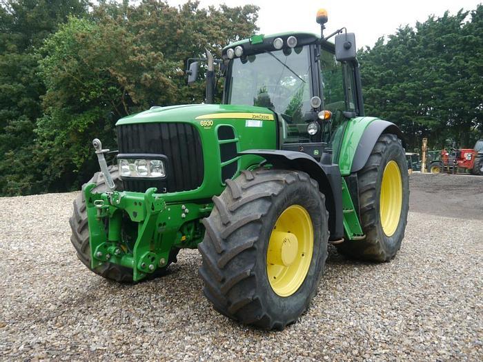 Used John Deere 6930 4wd Tractor