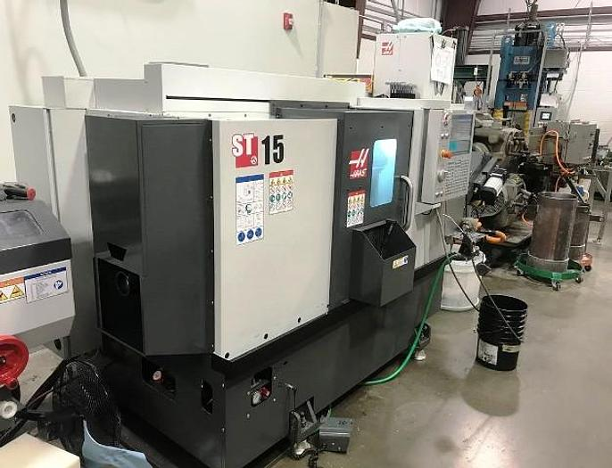 Used 2018 HAAS ST-15 2-Axis CNC Lathe