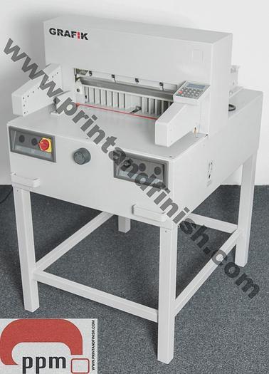 NEW Grafik 650EG Paper Guillotine