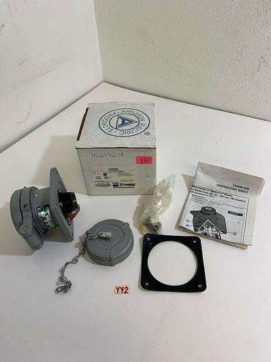 Appleton ADR3034 Powertite Receptacle 30A 250VDC 600VAC *New~Fast Shipping*