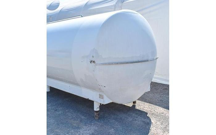 USED 5000 GALLON TANK, 316L STAINLESS STEEL, INSULATED, SANITARY