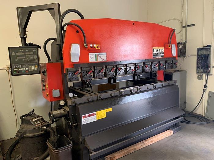 Used 1997 - 88 Ton Amada RG-80 CNC Press Brake