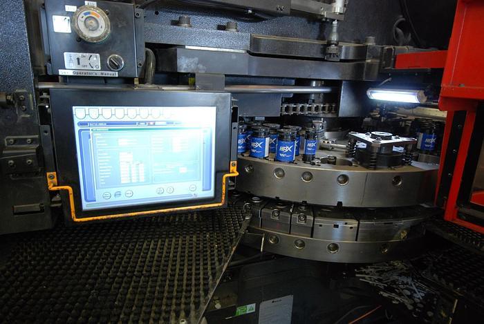 33 TON AMADA EMK3612 M2, SERVO-DRIVEN CNC TURRET PUNCH, 2015