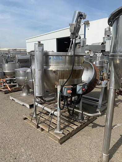 Used B.H Hubbert / All Fab 200 Gallon Stainless Steel Mix Kettle