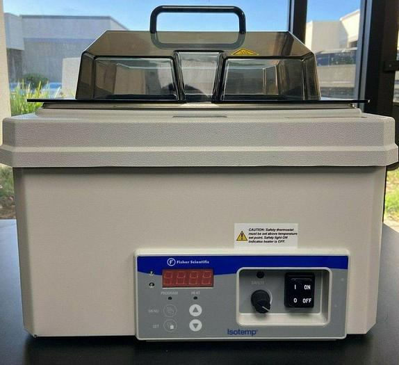 Used Fisher Scientific Isotemp 2320 Digital Water Bath with Lid