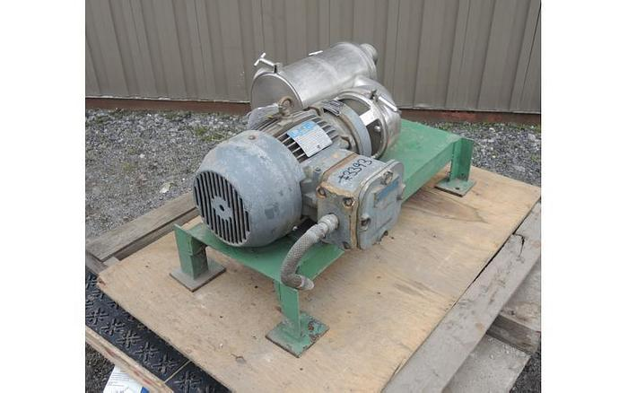 "USED CENTRIFUGAL PUMP, 3"" X 3"" INLET & OUTLET, STAINLESS STEEL, AIR SEPARATOR PUMP"