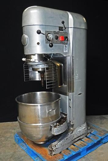 Used USED HOBART® 140-QUART MIXER WITH BOWL GUARD, MODEL V-1401