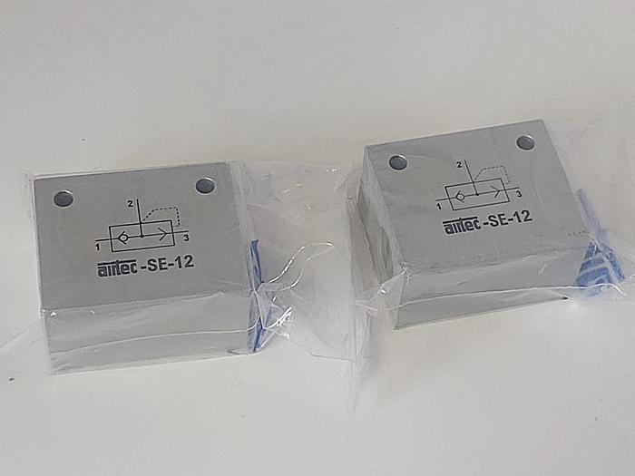 2 Stück Schnellentlüftungsventile, SE-12, Airtec neu