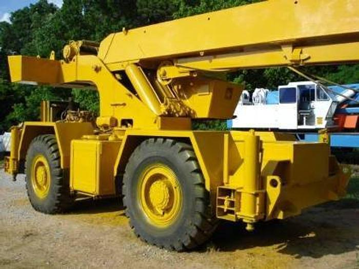 1978 Grove Rough Terrain Cranes RT522