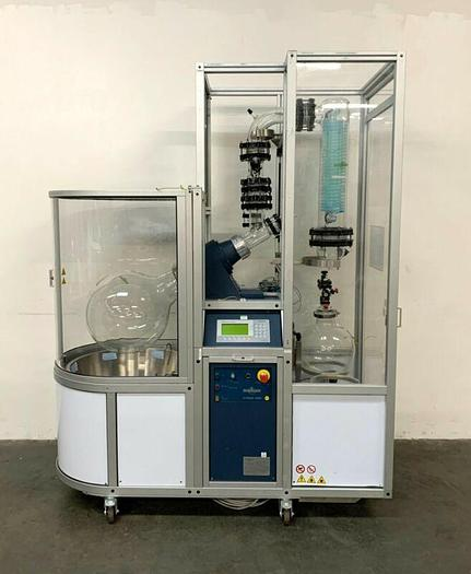 Used Steroglass Strike 5000 Explosion Proof 50L Roto-Vap w/ Chiller Vac Pump + Spares