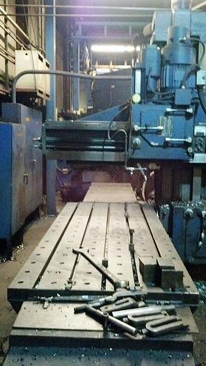 """Ingersoll Open Sided Planer Mill, 36"""" x 96"""" Table, 36"""" Under Rail, 20 hp, ID17270"""