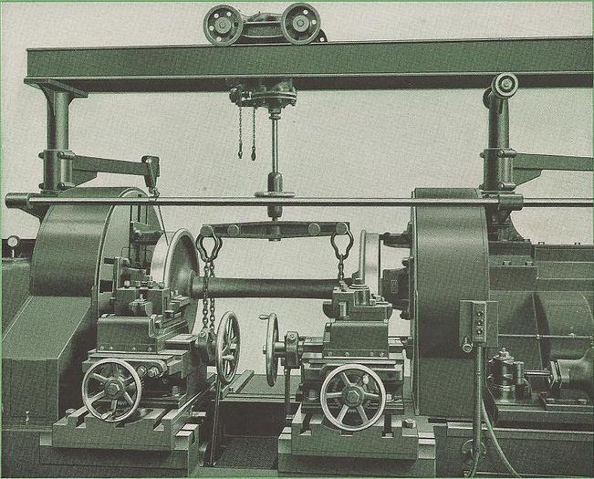 52 Inch Farrel-Sellers Wheel Lathe