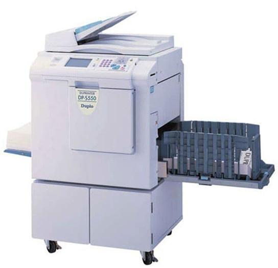 Duplo Duprinter DP-F550 Duplicator Machine (300 x 600 DPI)