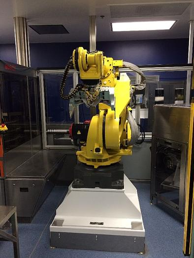 Used FANUC R2000iB/165F 6 AXIS CNC ROBOT WITH VISION