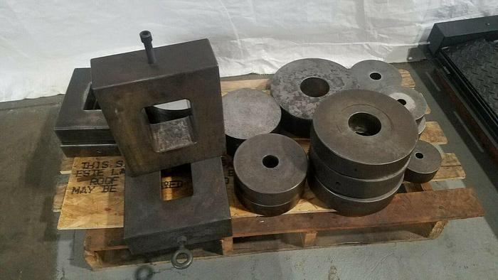 Used Steel Precision Ground Bolster Plates Spacers for Stamping Press Tooling