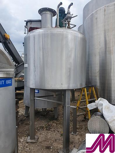Used 1,200 Litre Stainless Steel Insulated Mix Tank
