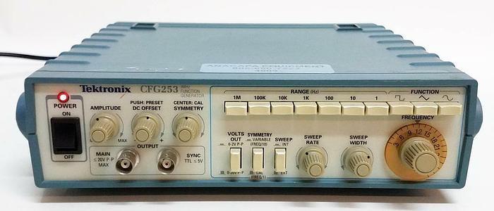 Used Tektronix CFG253 3MHz Function Generator (4909)