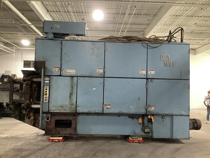 Used DISAMATIC MOLDING LINE