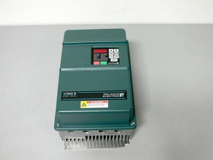 Used Reliance Electric GV3000/SE 15V4260 460V 3 Phase 15HP VTAC 7 HVAC Drive