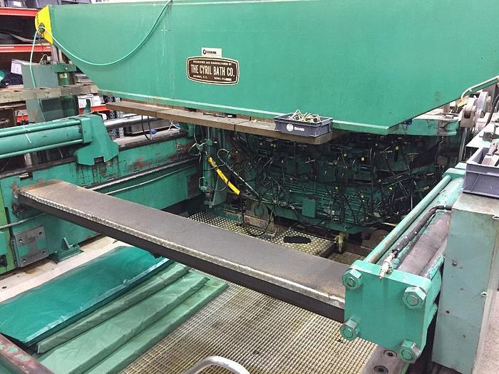 400 Ton Cyril Bath VTL400CJ Sheet Stretch Forming Press