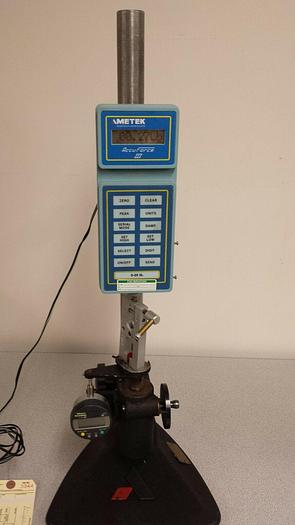 Used Ametek Accuforce III Pull Tester in excellent condition!