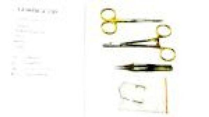 Veterinary Instrument Set Basic Eye Starter Tungsten Carbide